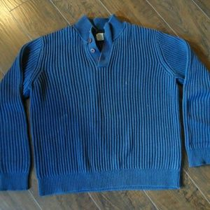 L.L. Bean Henley Pullover Sweater